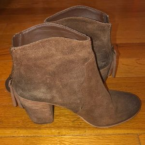 Cute booties barely worn